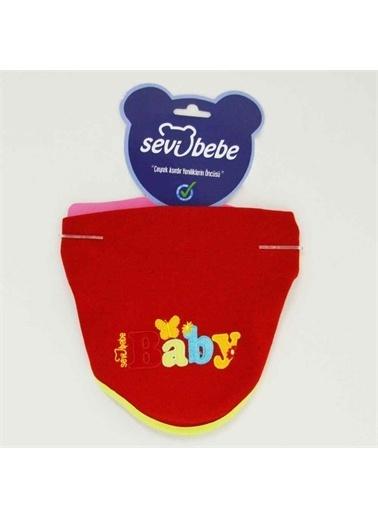 Sevi Bebe Sevi Bebe 12014 Bebek Fular Önlük Kırmızı